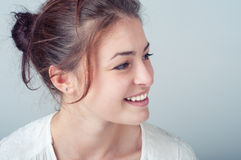 Young woman with a beautiful smile Royalty Free Stock Photo