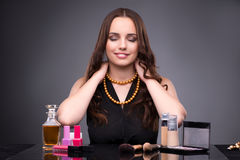 The young woman in beauty make-up concept Royalty Free Stock Photo