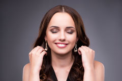 The young woman in beauty make-up concept Royalty Free Stock Photography