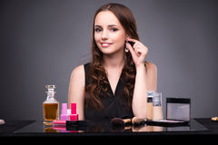 The young woman in beauty make-up concept Royalty Free Stock Photos