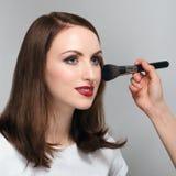 Young woman at beauty salon Royalty Free Stock Image