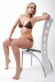 Young woman in bikini. Royalty Free Stock Image