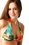 Young woman bikini portrait Royalty Free Stock Photos
