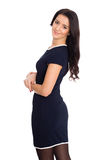 Young woman with black hair Royalty Free Stock Image