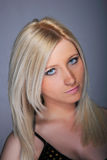 Young woman blond woman Stock Photos