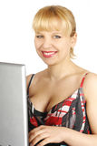 Young woman business Stock Image