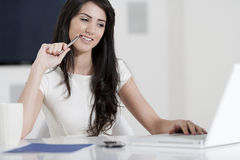 Young woman in business Royalty Free Stock Photography