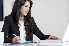 Young woman in business Royalty Free Stock Images