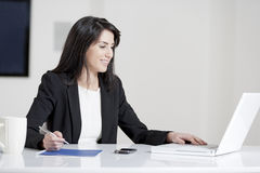 Young woman in business Stock Image