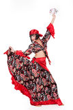 Young Woman In Carnival Clothing Royalty Free Stock Image