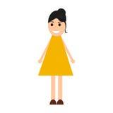 Young woman cartoon Stock Image