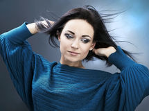 Young Woman casual portrait.   Stock Image