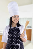 Young Woman Chef Royalty Free Stock Photos
