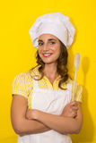 Young woman chef Royalty Free Stock Images