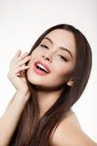 Beauty face of beautiful woman Stock Photography