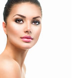 Young Woman with Clean Fresh Skin Royalty Free Stock Photo
