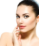 Young Woman with Clean Skin Royalty Free Stock Photo