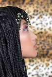 Cleopatra. Young woman in Cleopatra style Royalty Free Stock Photo