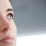 Young woman close up Royalty Free Stock Images