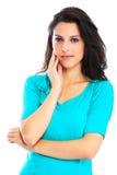 Young woman close up Stock Photos