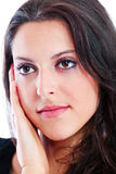 Young woman close up Royalty Free Stock Photo