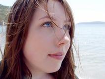 Young Woman Closeup Stock Image