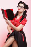 Young woman, college student or teacher Royalty Free Stock Image
