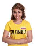 Young woman from Colombia with crossed arms Royalty Free Stock Photography