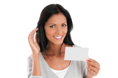 Young woman communication Stock Photo