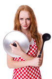 Young woman cook Stock Image