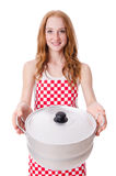 Young woman cook Stock Photo