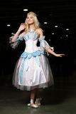 Young woman cosplayer wearing beautiful dress Royalty Free Stock Photo