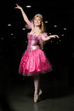 Young woman cosplayer wearing pink dress Royalty Free Stock Photography
