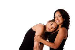 Young woman couple royalty free stock image
