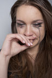 Young woman crying Stock Photography