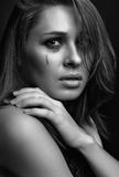 Young woman crying Stock Images