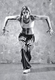 Young woman dancer Stock Photo