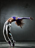 Young woman dancer Stock Image