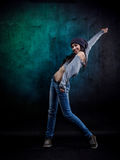 Young woman dancer Royalty Free Stock Photos