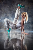 Young woman dancer Royalty Free Stock Photo