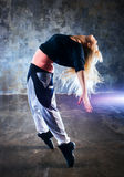 Young woman dancer Royalty Free Stock Photography
