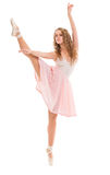 Young woman dancer Royalty Free Stock Images
