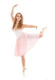 Young woman dancer Royalty Free Stock Photos