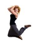 Young woman dancing Stock Photos