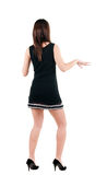 Young woman dancing. Royalty Free Stock Photos