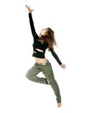 Young woman dancing Royalty Free Stock Photos