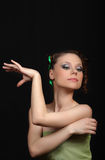 Young woman danser Stock Image