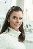 Young woman dental patient Royalty Free Stock Photography