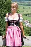 Young woman in a dirndl Stock Image