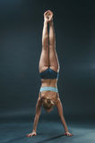 Young woman do yoga Royalty Free Stock Images